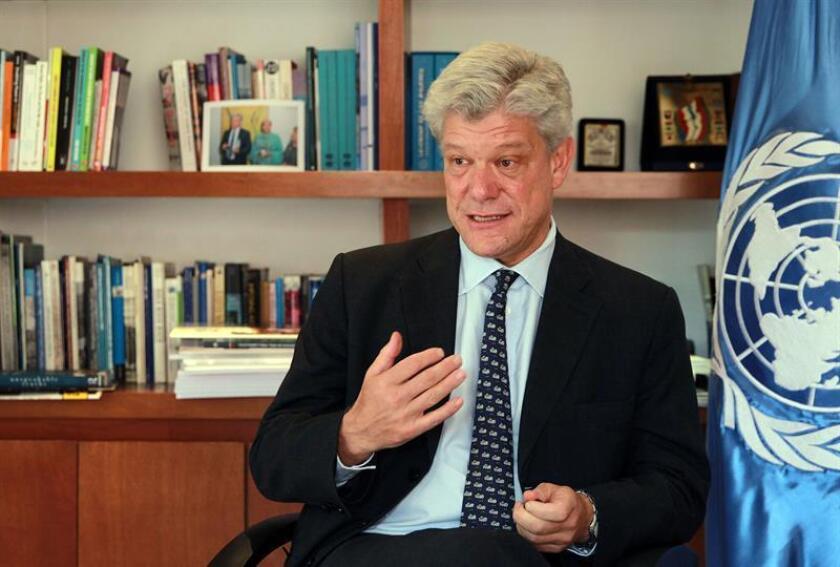 El chileno Fabrizio Hochschild fue designado hoy como próximo secretario general adjunto de la ONU para coordinación estratégica, según informó un comunicado oficial de Naciones Unidas. EFE/ARCHIVO