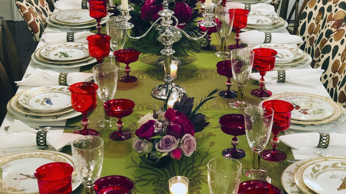 Simple Can Be Gorgeous When Setting A Holiday Table The San Diego Union Tribune