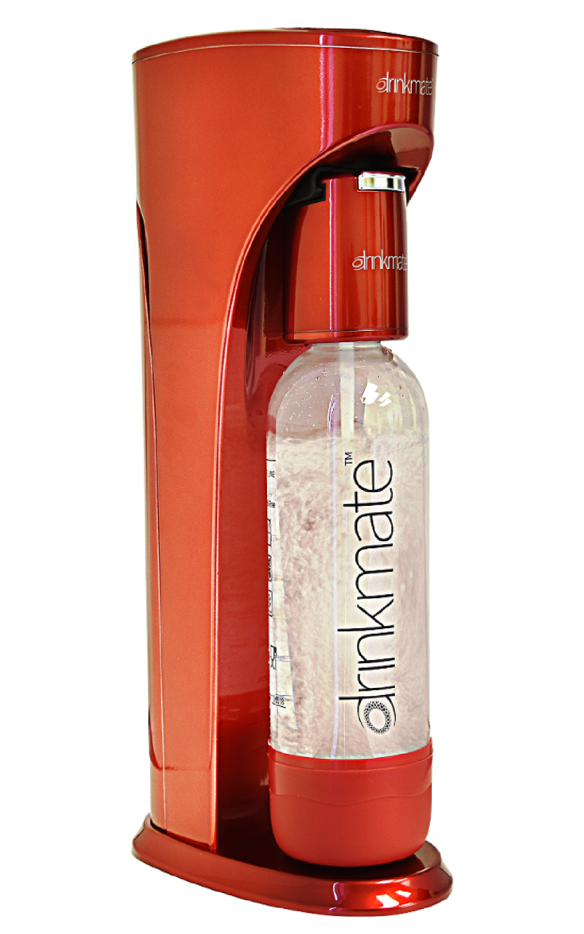 Countertop carbonation from Drinkmate.