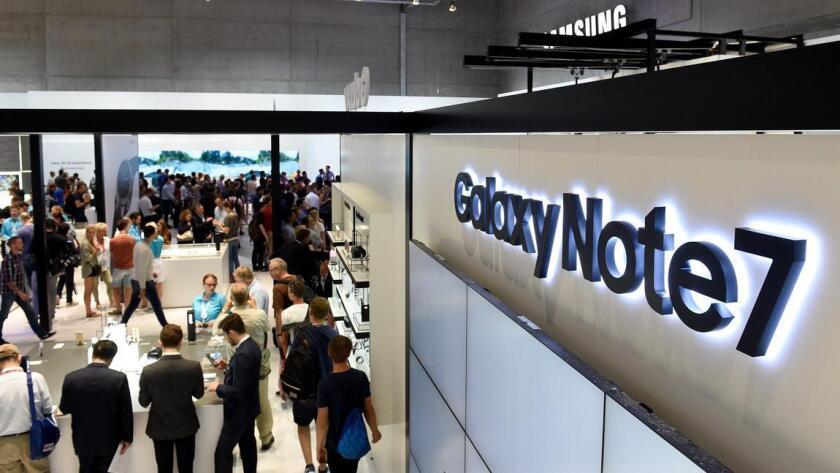 Samsung Electronics pidió a los usuarios de los celulares Galaxy Note 7 que los dejen de utilizar de inmediato