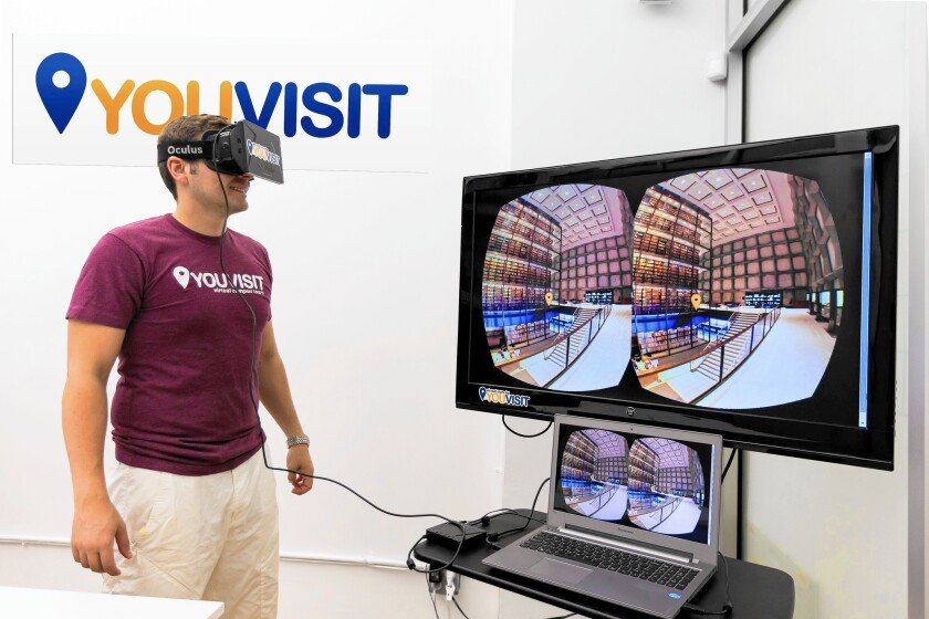Colleges use virtual reality for recruiting