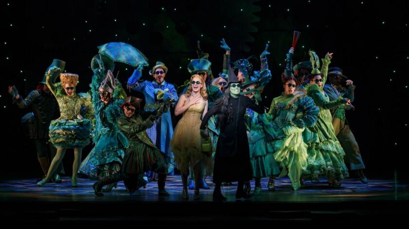 """The national tour of """"Wicked"""" is back in San Diego for the first time since 2014."""