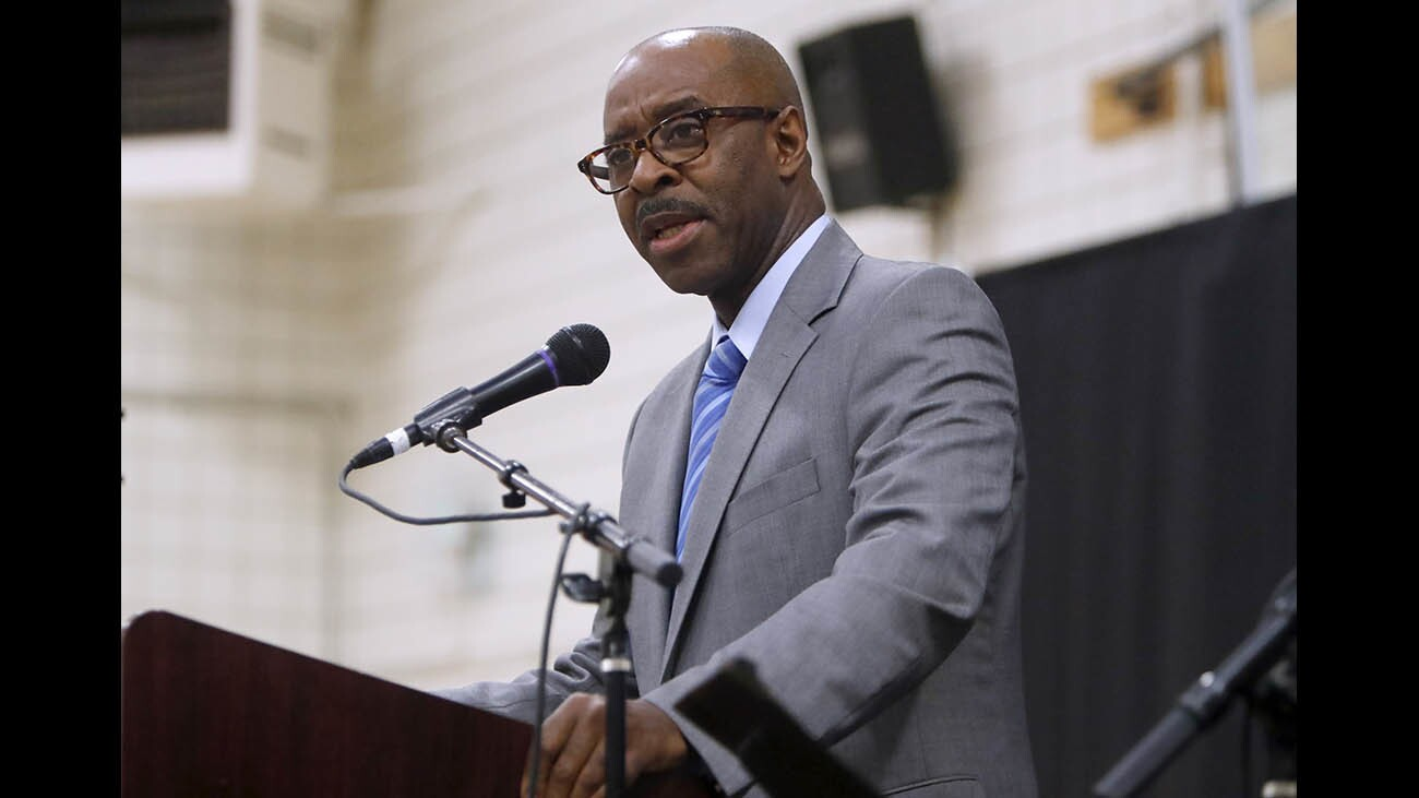 Photo Gallery: Actor, producer and author Courtney B. Vance gives inspirational speech at annual YMCA of the Foothills prayer breakfast