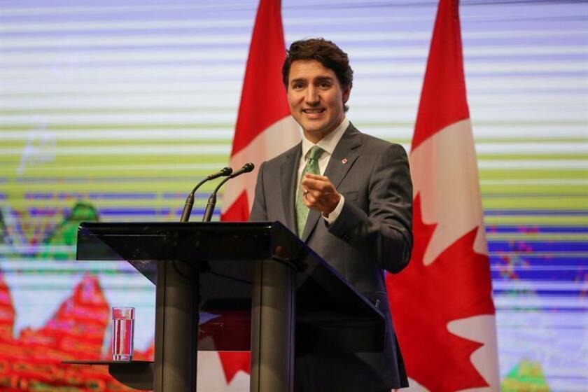 El primer ministro canadiense, Justin Trudeau. EFE/Archivo