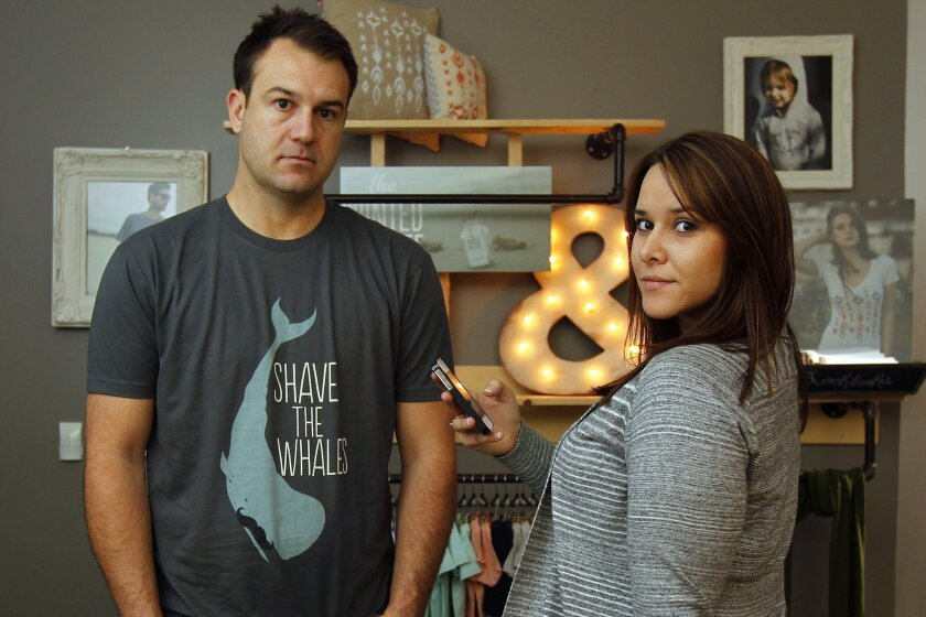 Kurt Hummel and Alissa Samperio have used exclusively social media to promote their Vista company, The Printed Palette.