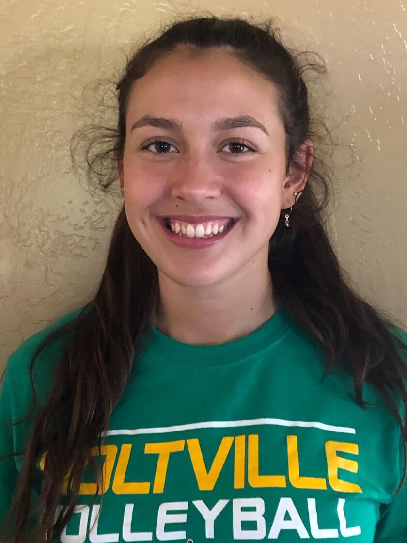 Abby Garewal, Holtville high school girls volleyball