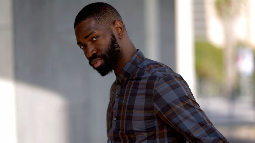 LOS ANGELES, CA.,SEPTEMBER 15, 2017--Tarell Alvin McCraney, Oscar winning co-writer of MOONLIGHT and