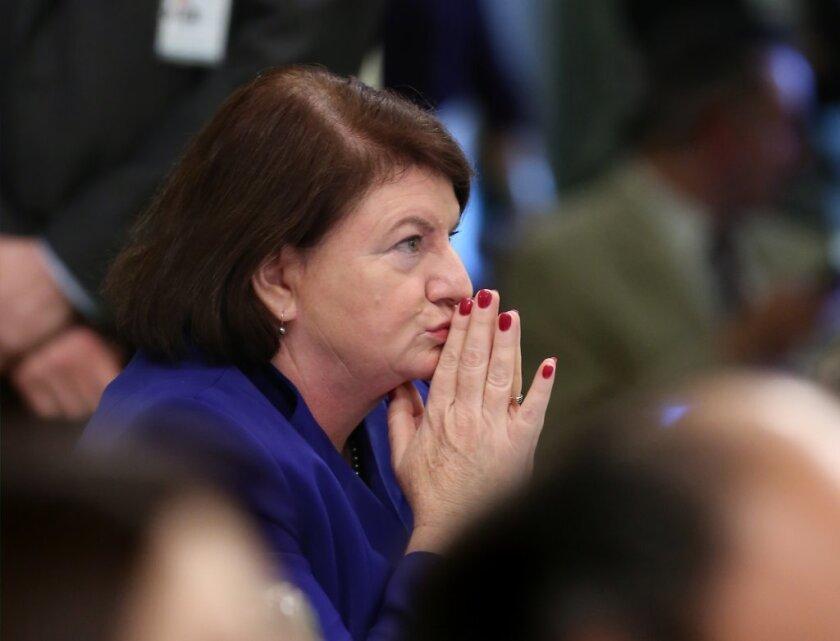 California Senate President Pro Tem Toni Atkins, D-San Diego