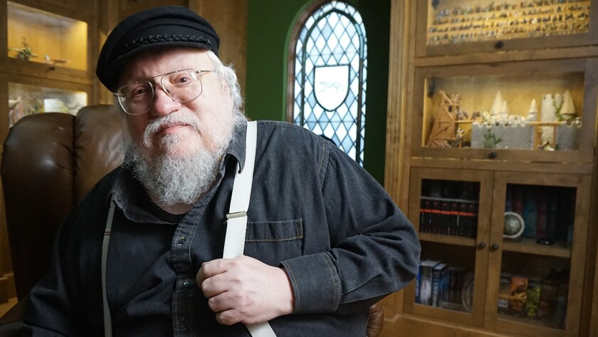 """Author George R.R. Martin (""""Game of Thrones"""") is one of the featured writers in """"The Great American Read"""" on PBS."""