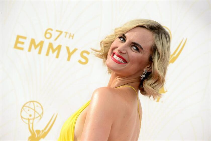 Taylor Schilling arrives for the 67th annual Primetime Emmy Awards held at the Microsoft Theater in Los Angeles, California, USA, 20 September 2015. EFE/EPA/File