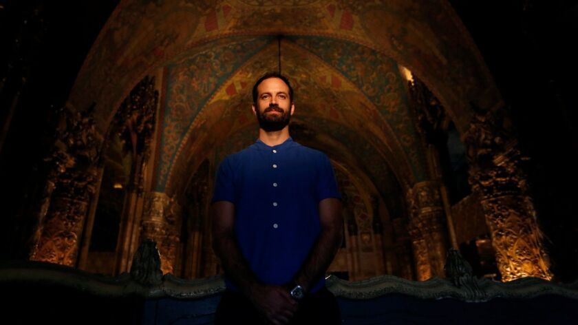 Dancer and choreographer Benjamin Millepied at the Theatre at Ace Hotel