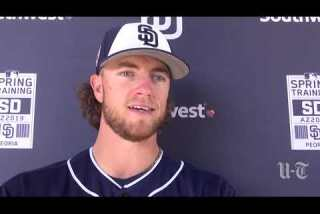 Padres pitcher Chris Paddack on start vs. Mariners and possibility of making rotation