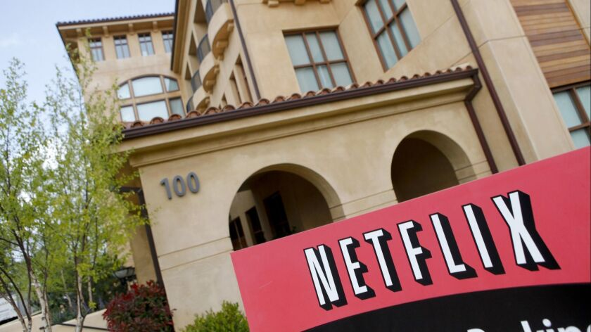 Netflix is headquartered in Los Gatos, Calif.