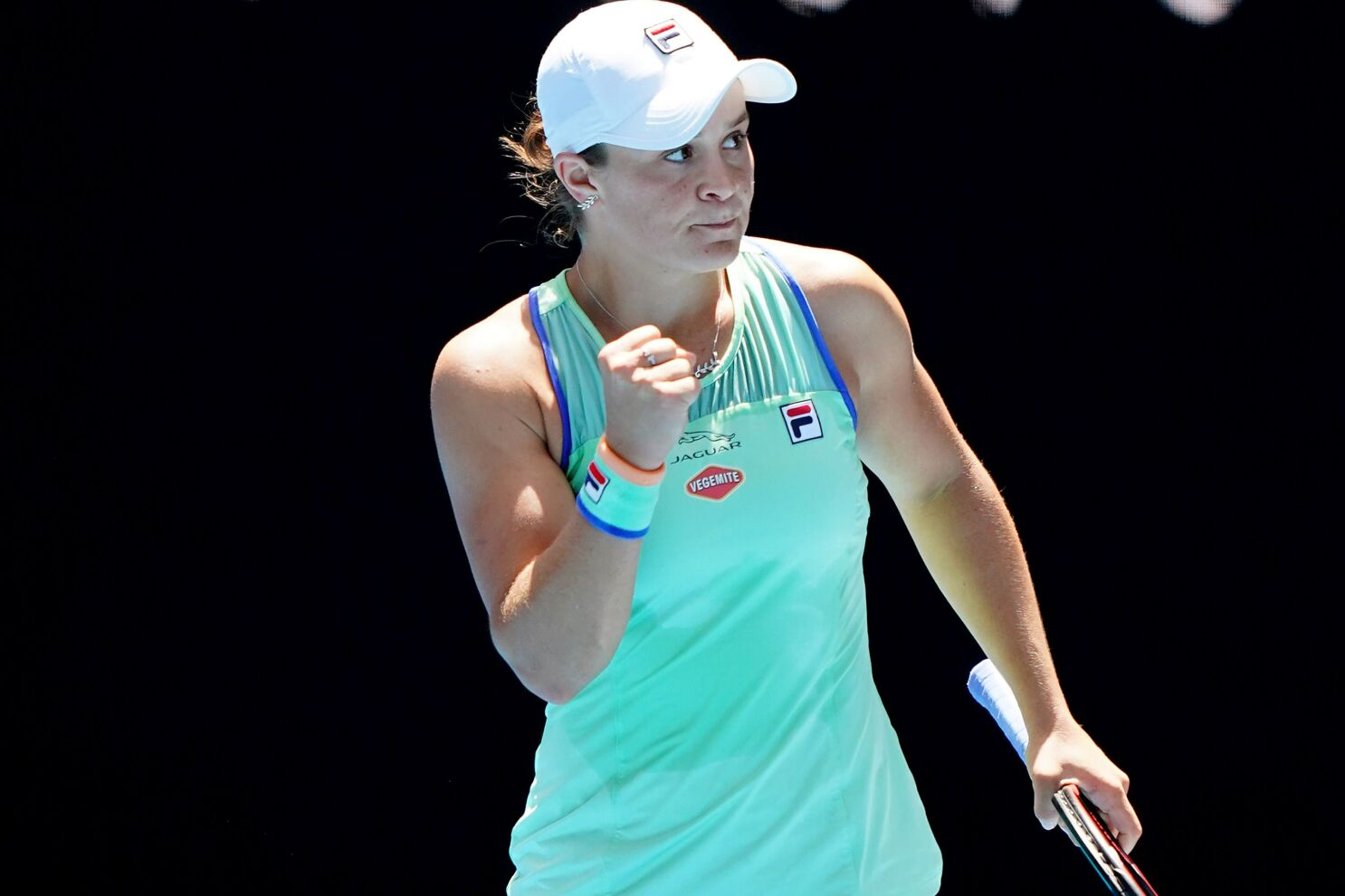 Australian Open Ashleigh Barty Advances To Semifinals Sofia Kenin Next Los Angeles Times