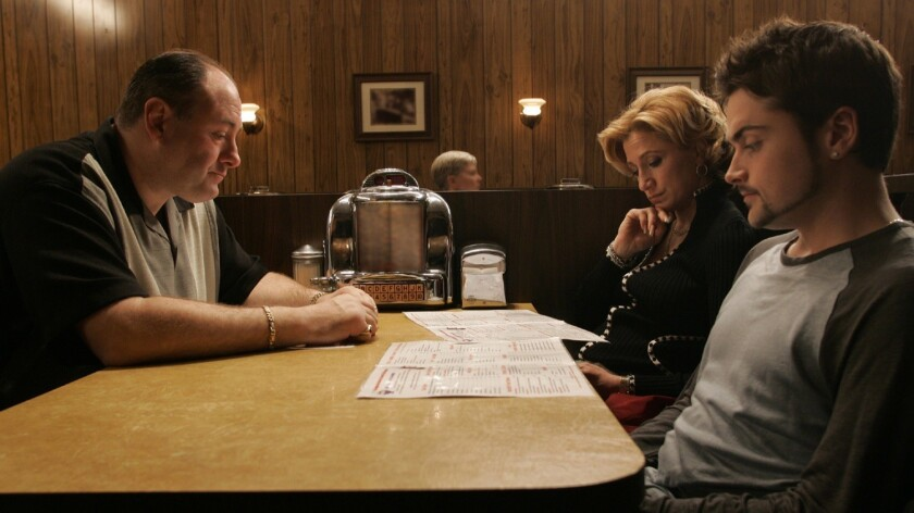 James Gandolfini, Edie Falco, Robert Iler