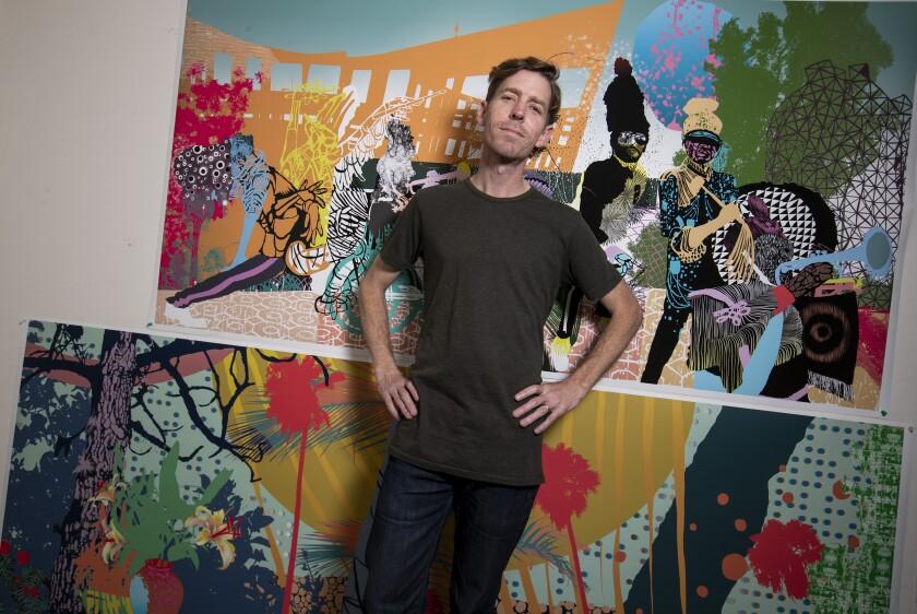 Artist Carlson Hatton