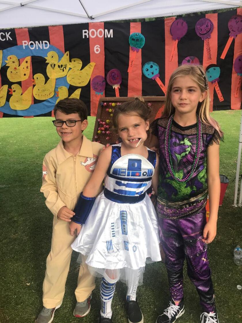 The Solana Vista and Skyline elementary schools hold their 62nd annual Halloween Carnival from 11 a.m. to 4 p.m. Sunday at Solana Vista Elementary.