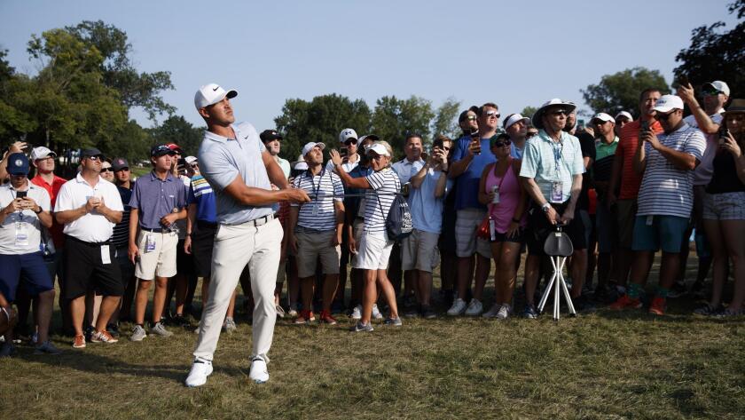 PGA Championship golf tournament in St. Louis, Missouri, USA