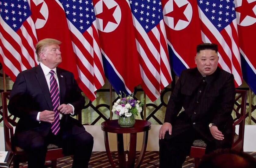 Trump asegura que Kim se ha disculpado por ensayos misiles de Corea del Norte