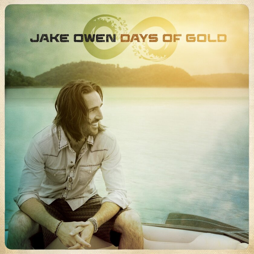 """This image provided by RCA Nashville shows the cover of Jake Owen's album, """"Days of Gold."""" (AP Photo/RCA Nashville)"""