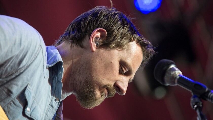 Sturgill Simpson plays the the Coachella Valley Music and Arts Festival in April 2015.