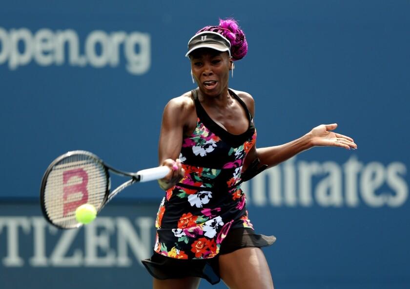 U.S. Open: Venus Williams upsets Clijsters' protege Kirsten Flipkens