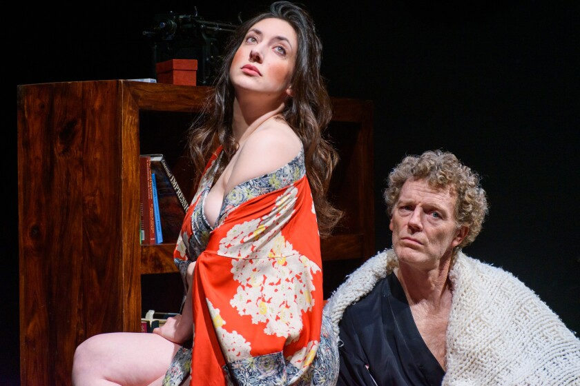 "Angela Beyer and Troy Dunn in ""Largo Desolato"""