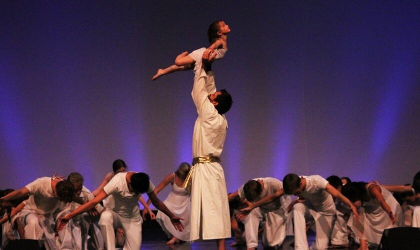 """Inland Valley Classical Ballet Theatre presents """"Passion of the Christ"""" this weekend in Temecula."""