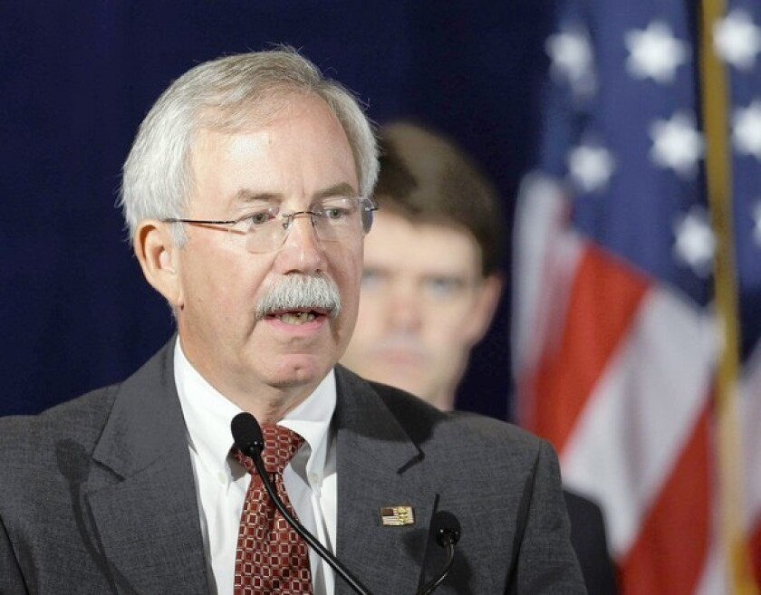 Kenneth E. Melson, acting director of the U.S. Bureau of Alcohol, Tobacco, Firearms and Explosives, in 2009. He and his lawyer met with congressional investigators over the weekend to discuss Operation Fast and Furious, which allowed guns to be smuggled into the hands of Mexican criminals.