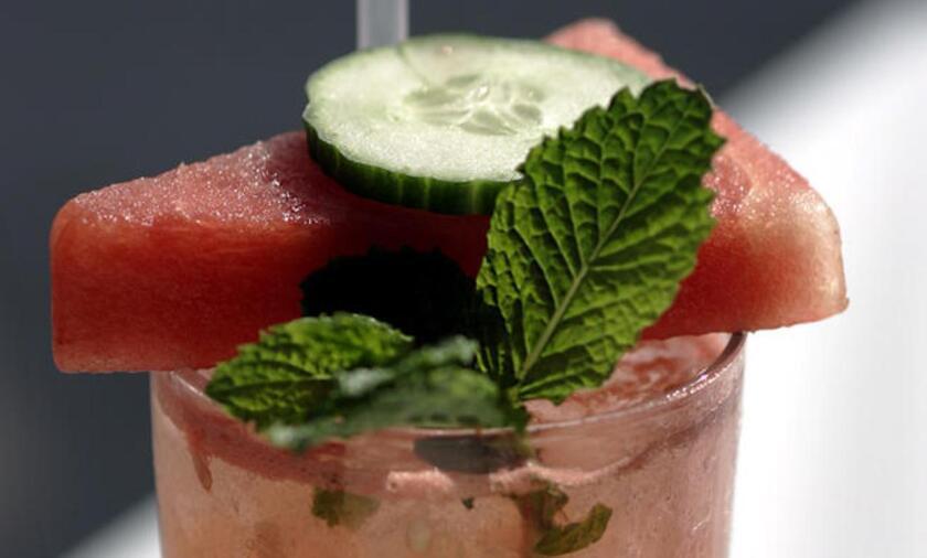 Recipe: Cucumber watermelon mojito
