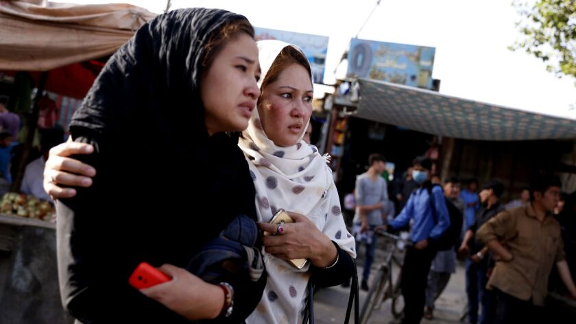 Suicide bomb blast in a Shi'ite Muslims area in Kabul kils at least 25 people, Afghanistan - 15 Aug 2018