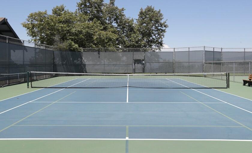 Laguna Beach is opting to convert a tennis court at Alta Laguna Park into permanent pickleball courts.
