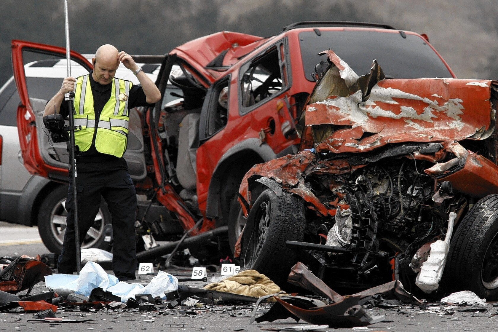 Wrong-way-driver suspect in freeway crash still can't talk