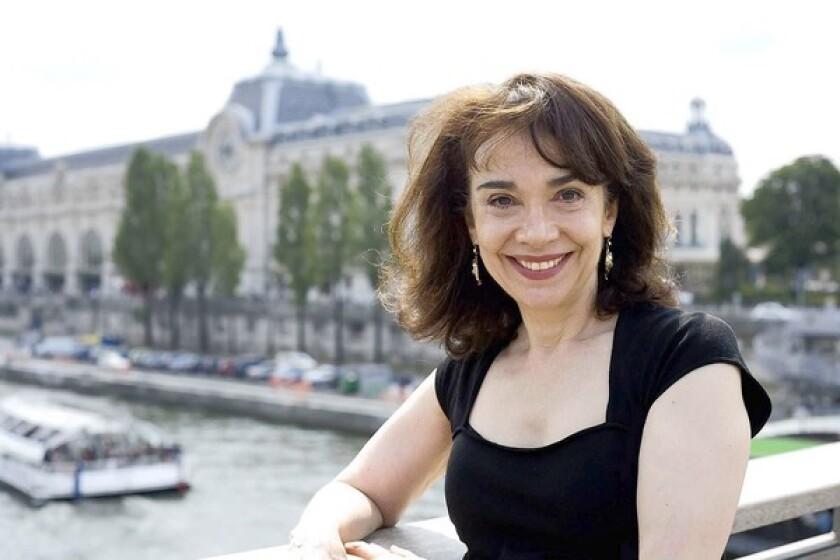 Author Elaine Sciolino.