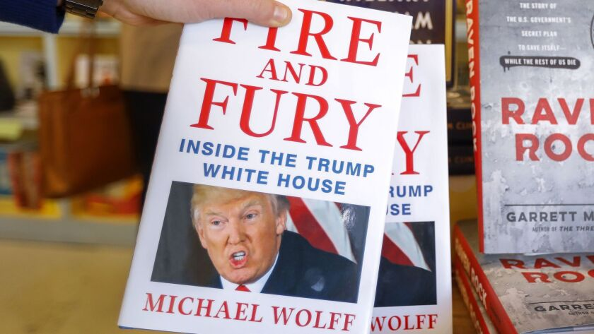 More print copies of the controversial 'Fire and Fury' are