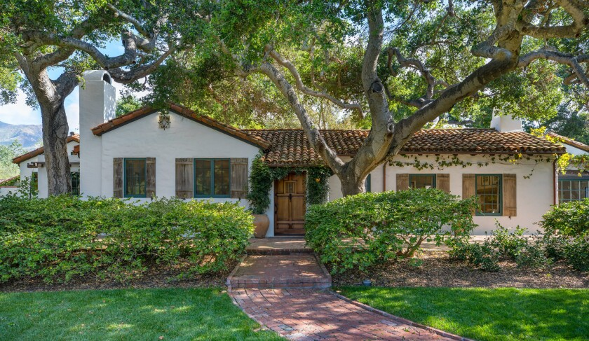 The Montecito property that Oprah Winfrey just bought centers on a 100-year-old house.