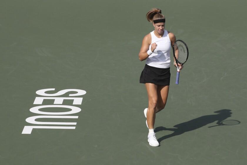South Korea Tennis Korea Open