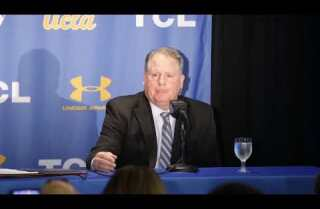 Chip Kelly introduced as football coach for UCLA