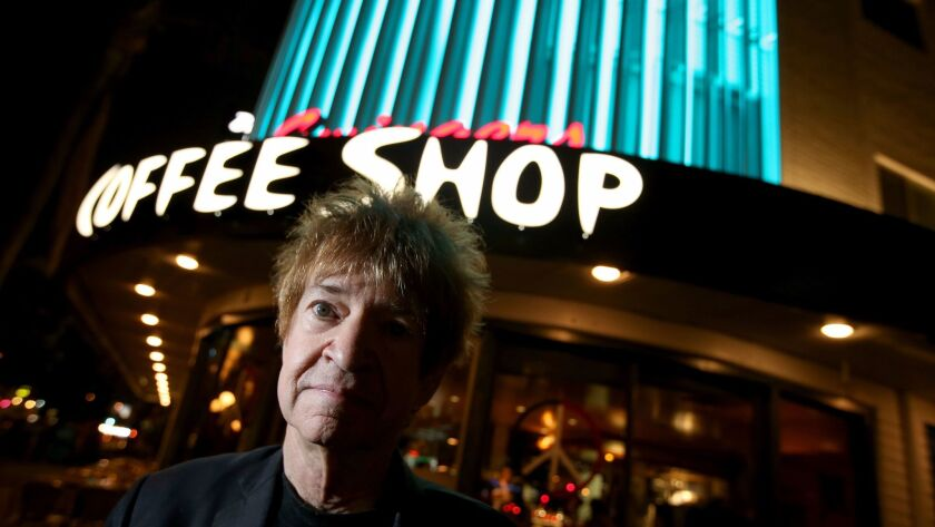 LOS ANGELES, CALIF. - MAY 31, 2017. After 40 years at KROQ, DJ Rodney Bingenheimer is mpoving his s
