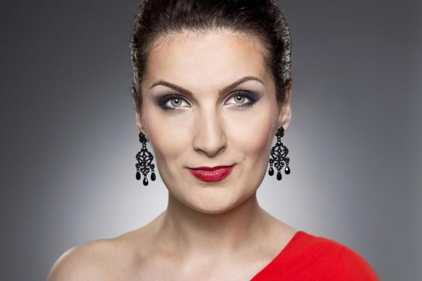 Soprano Adela Zaharia