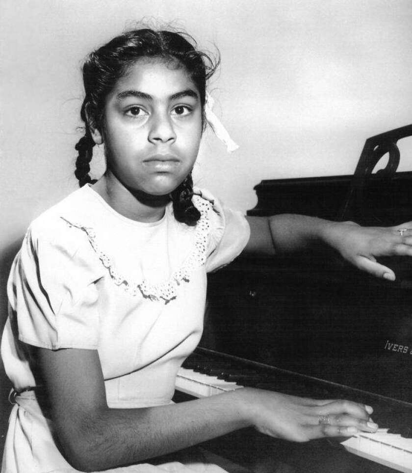 Sylvia Mendez at age 10. The human rights activist, now 80, received the 2010 Medal of Freedom from President Obama.