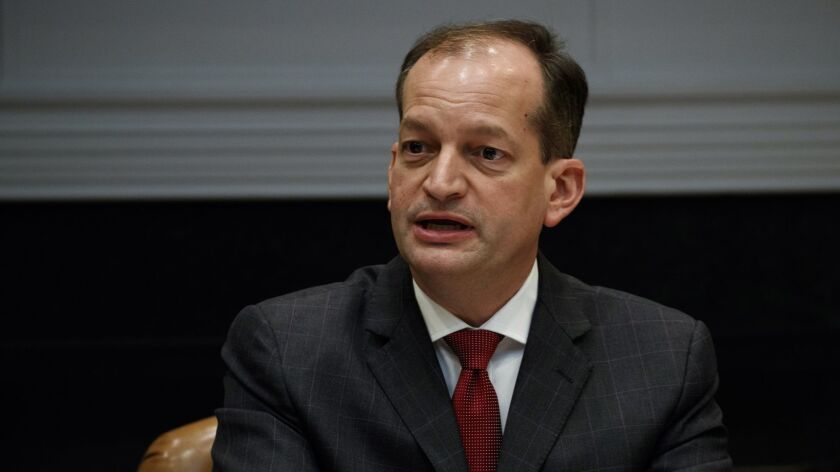 Labor Secretary Alex Acosta has proposed a significant reduction in overtime protections from what the Obama administration had proposed.