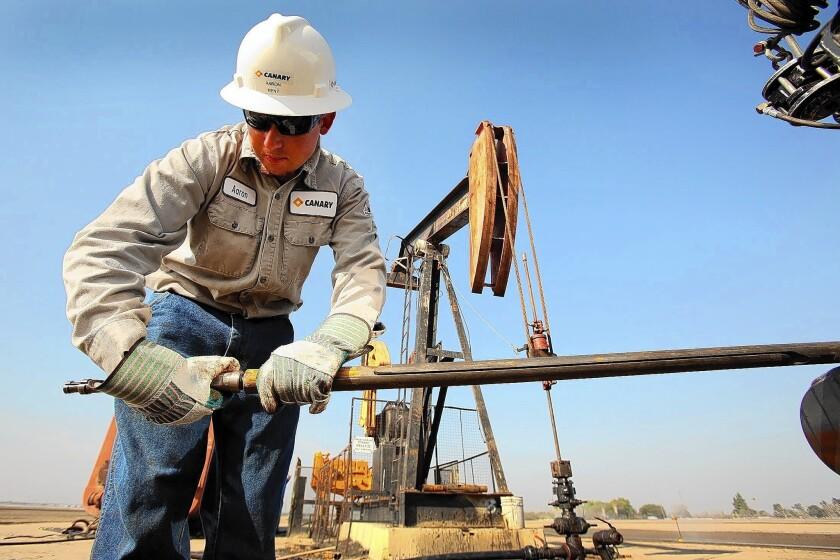 Bakersfield oil fields