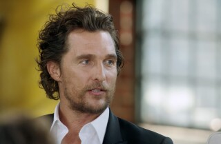 Matthew McConaughey works hard, looking for 'Gold'