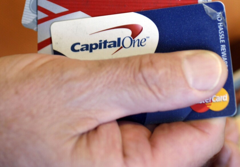 Capital One froze a SoCal customer's credit card because of concern about a bank transfer used to pay off $14,000 in debt.