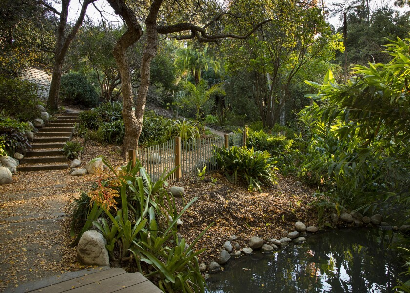 UCLA's Mildred E. Mathias Botanical Garden is just a quick detour off the 405.