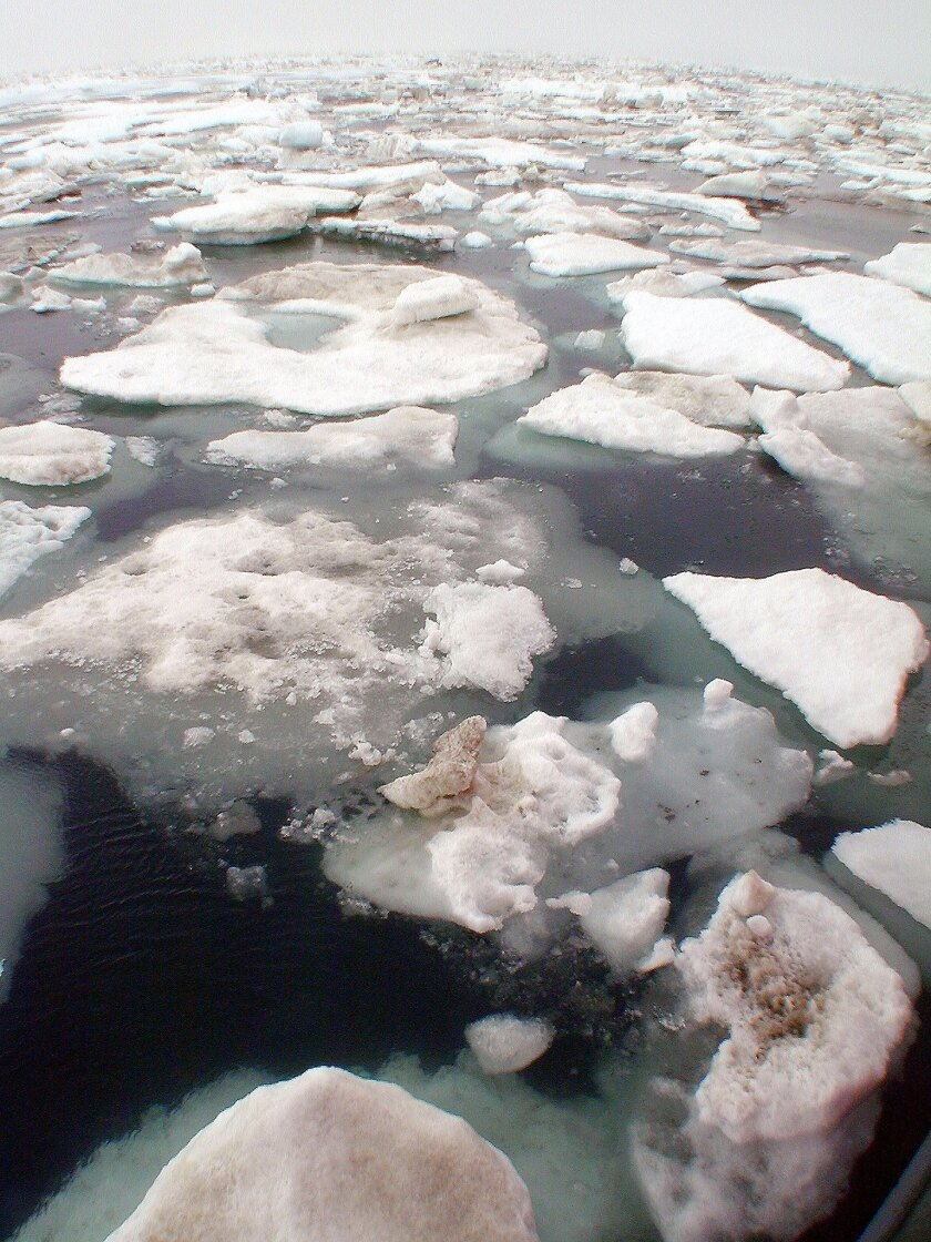 Arctic ice loss may drive extreme weather patterns