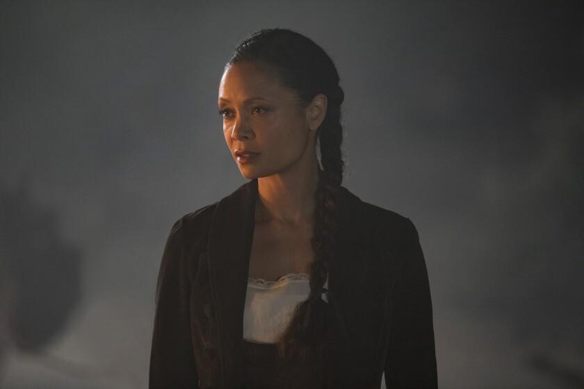 """Thandie Newton in a scene from """"Westworld."""""""