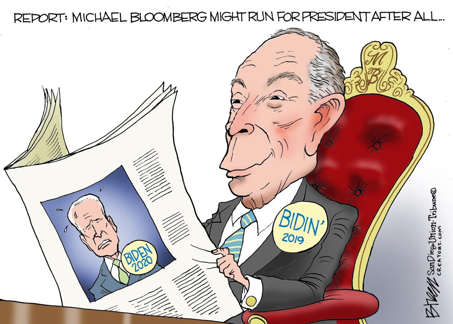 Sources say Michael Bloomberg still mulling 2020 run