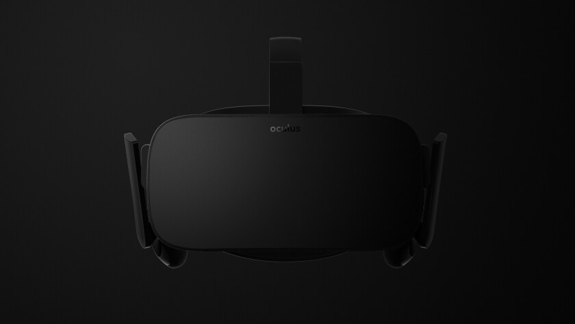 Oculus VR announced its first consumer-version virtual reality headset.